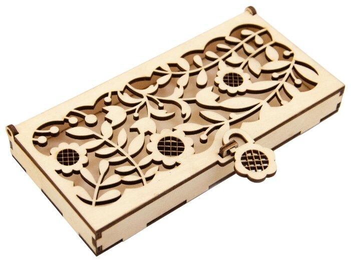Купить Коробка подарочная Орландо для денег Цветы (замок-подсолнух) 16.5 х 1.8 х 8 см бежевый по низкой цене с доставкой из Яндекс.Маркета