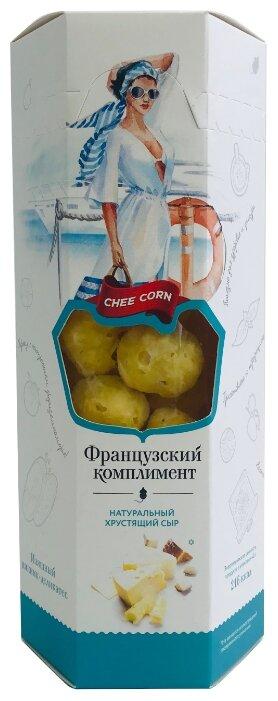 Cheecorn Натуральный хрустящий сыр Французский комплимент 40 г