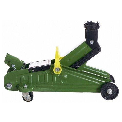 цена на Домкрат подкатной гидравлический STVOL SDF2325 (2 т) зеленый