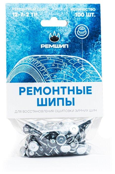 Купить Шипы ремонтные, Теком, 12-7-2ТР, фасовка 100 шт. по низкой цене с доставкой из Яндекс.Маркета (бывший Беру)