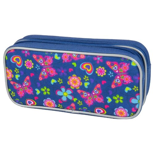 Mag Taller Пенал-косметичка Butterfly синий mag taller рюкзак zoom flowers разноцветный