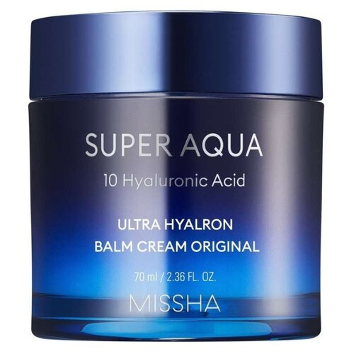 Missha Super Aqua Ultra Hyalron Balm Cream Original увлажняющий крем-бальзам для лица, 70 мл