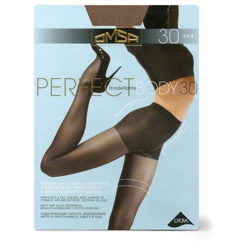 Колготки Omsa Perfect Body 30 den, размер 2-S, daino (бежевый) колготки glamour thin body 40 den размер 2 s daino бежевый