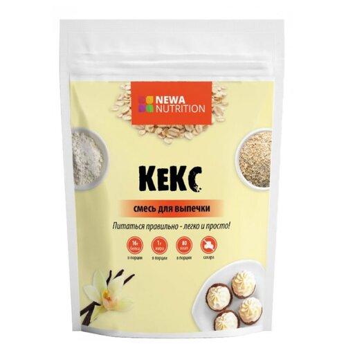 NEWA Nutrition смесь для выпечки Кекс с ванильным вкусом, 0.2 кг biotech nutrition isotonic 10 40 г