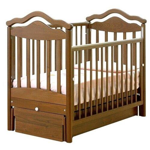 Кроватка Гандылян Анжелика (классическая), универсальный маятник орех кроватка гандылян даниэль классическая универсальный маятник белый