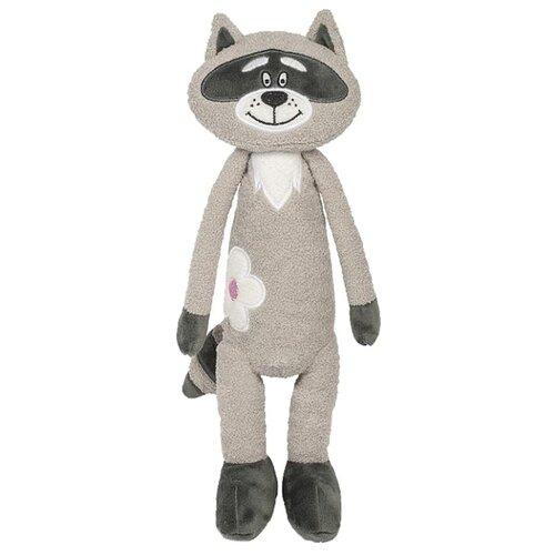 Купить Мягкая игрушка Maxitoys Енотик с цветочком 33 см, Мягкие игрушки