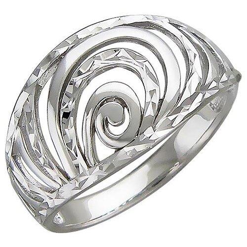 Эстет Кольцо из серебра 01К756343, размер 16 ЭСТЕТ
