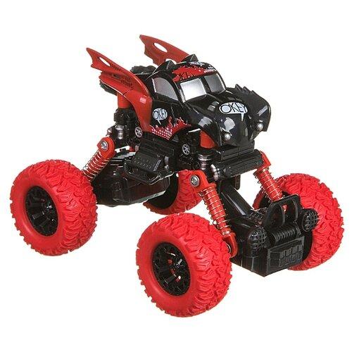 Купить Монстр-трак BONDIBON Парк техники (ВВ4573) черный/красный, Машинки и техника
