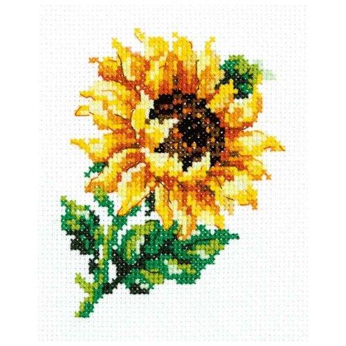 Купить Чудесная Игла Набор для вышивания Подсолнушек 9 х 11 см (28-04), Наборы для вышивания