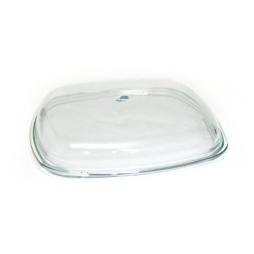 Крышка Биол стеклянная без ручки КВ260С (26х26 см) прозрачный