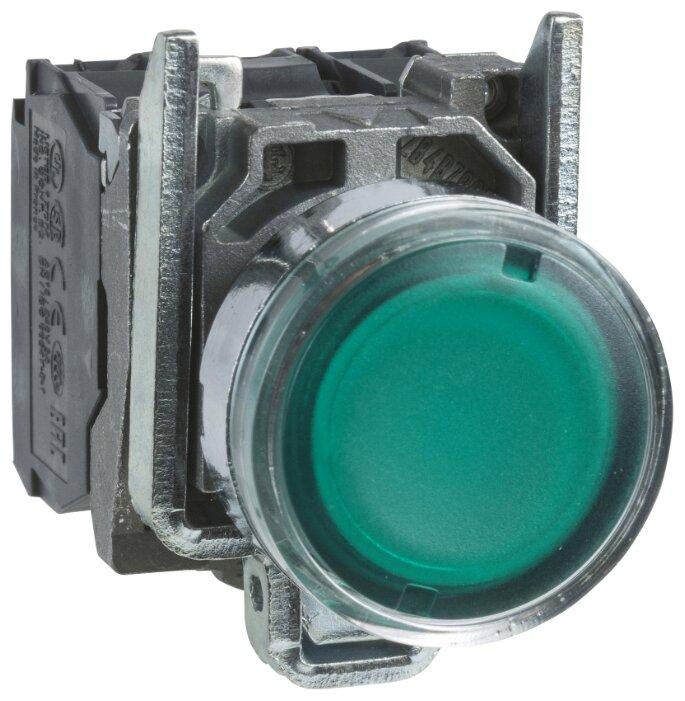 Нажимная кнопка (кнопочный выключатель/переключатель) в сборе Schneider Electric XB4BW33M5