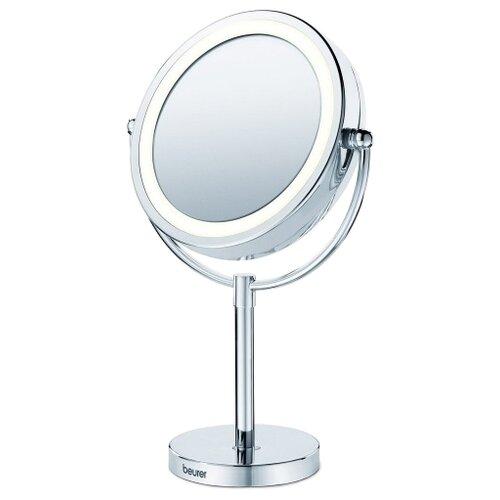Зеркало косметическое настольное Beurer BS69 с подсветкой серебристый