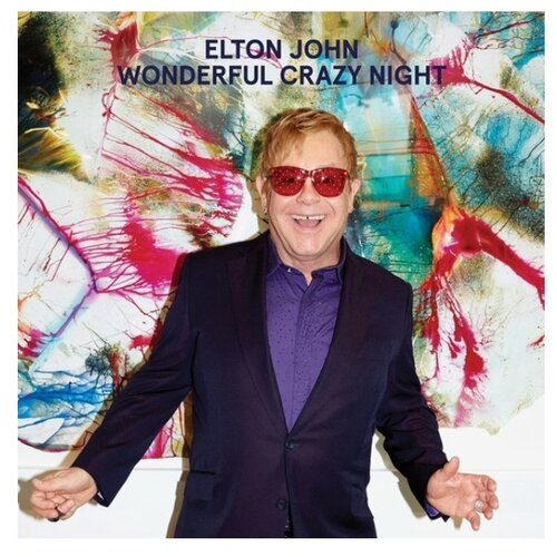 Elton John. Wonderful Crazy Night (LP)