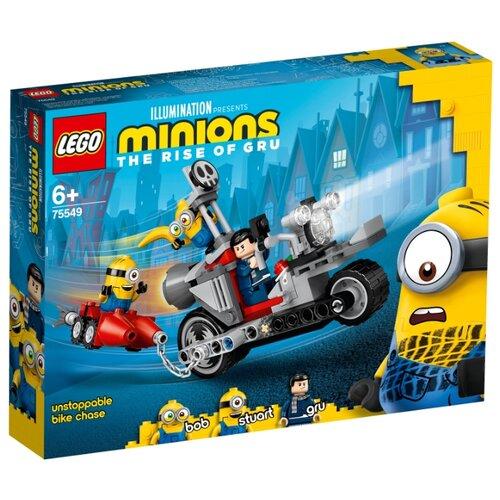 Фото - Конструктор LEGO Minions 75549 Невероятная погоня на мотоцикле конструктор lego jurassic world погоня за птеранодоном 75926