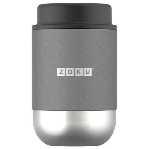 Термос для еды ZOKU ZK306 (0.475 л) серый термос zoku 750 мл серый