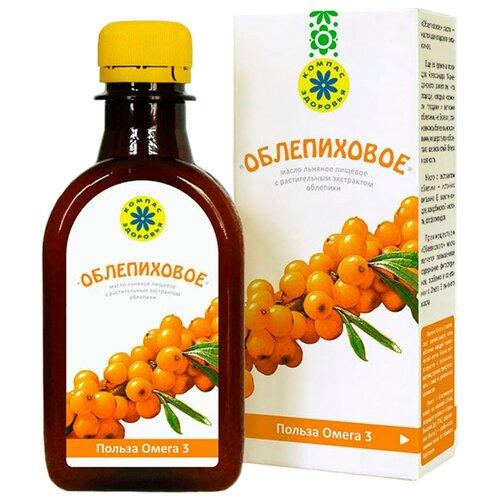 Компас Здоровья Масло льняное Облепиховое 0.2 л.