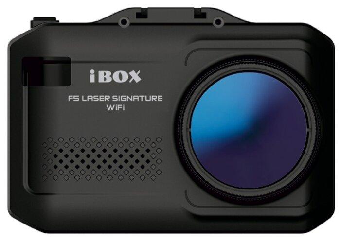 Видеорегистратор с радар-детектором iBOX F5 Laser Signature WiFi, черный