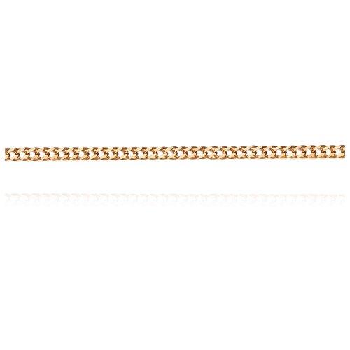 АДАМАС Цепь из золота плетения Ромб двойной ЦР225А2-А51, 55 см, 2.05 г