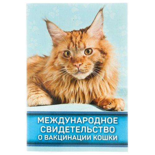 Ветеринарный паспорт Сима-ленд Международное свидетельство о вакцинации кошки 10.3 см