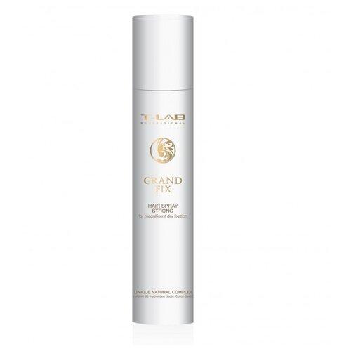 Купить T-Lab Professional Лак для волос Grand Fix Hair Spray Strong, сильная фиксация, 300 мл