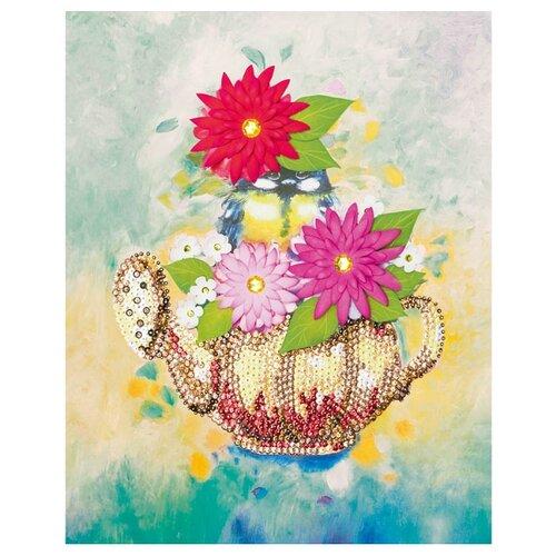 Купить Волшебная Мастерская Мозаика из пайеток Чаепитие МХ-33, Картины из пайеток