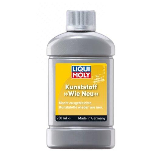 LIQUI MOLY Средство для ухода за наружным чёрным пластиком Kunststoff Wie Neu, 0.25 л смазка liqui moly pflege und gleispray для ухода за пластмассами 0 4 л