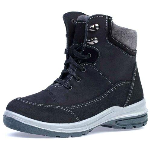 Ботинки КОТОФЕЙ размер 32, черный/серый ботинки t taccardi размер 32 черный