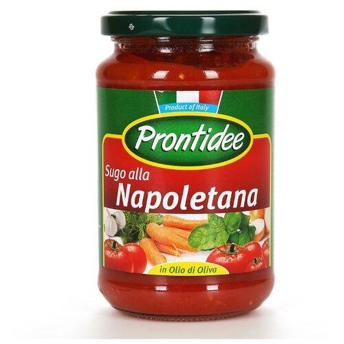 Соус Prontidee Томатный Неаполитано 350 г unidan соус томатный с хреном 500 г