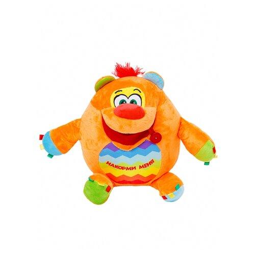 Купить Мягкая игрушка СмолТойс Мишка развивашка 38 см, Мягкие игрушки