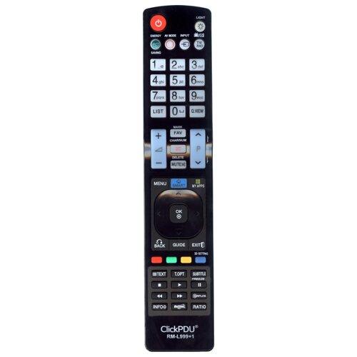 Фото - Пульт универсальный ClickPdu для LG RM-L999 HOD815 пульт clickpdu для mystery mtv 2622lw универсальный