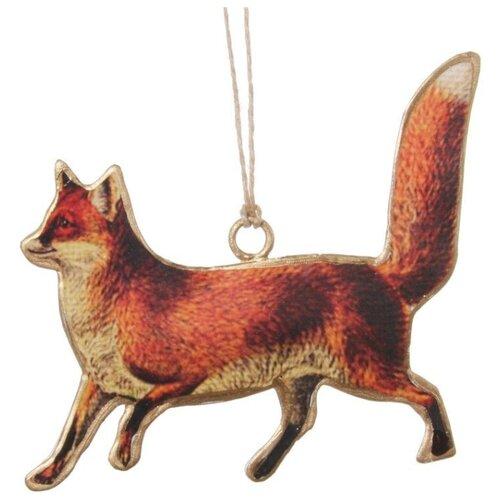 Елочная игрушка SHISHI 47917, рыжий