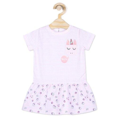 Платье COCCODRILLO размер 74, розовый