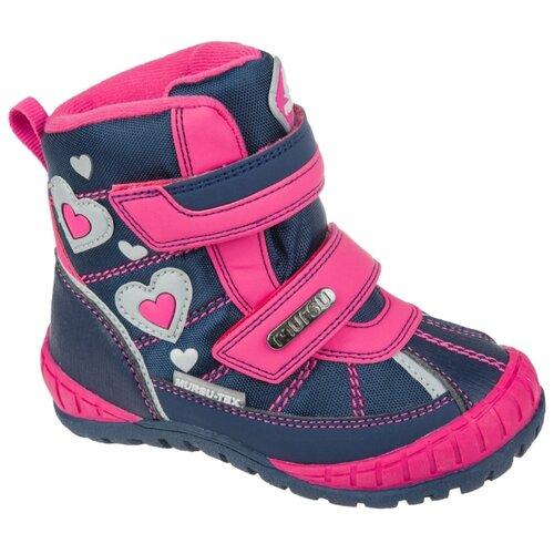 Фото - Ботинки Mursu размер 23, синий/фуксия ботинки детские тотошка цвет синий n 630a b размер 32