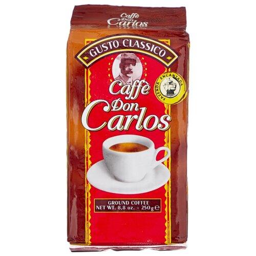 Фото - Кофе молотый Carraro don carlos, 250 г кофе молотый carraro india 250 г