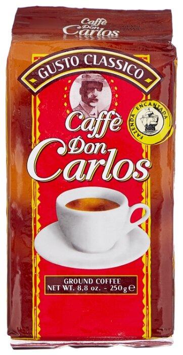 Кофе молотый Carraro don carlos