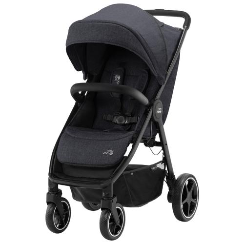 Прогулочная коляска BRITAX ROMER B-Agile R Black Shadow/Black коляска britax детская прогулочная коляска britax b agile 4 plus с капором sand beige