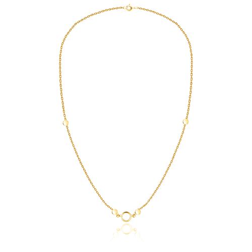 Бронницкий Ювелир Колье из желтого золота 54310074, 45 см, 3.2 г бронницкий ювелир колье из желтого золота 54319559 45 см 2 98 г