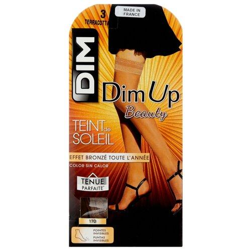 Чулки DIM Dim Up Teint de Soleil, 17 den, размер 3, terracotta (коричневый)