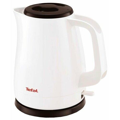 Чайник Tefal KO 150F Delfini Plus, белый чайник tefal k0 1201 дорожный