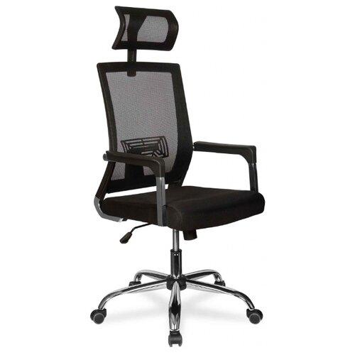 Компьютерное кресло College CLG-423 MXH-A офисное, обивка: текстиль, цвет: черный компьютерное кресло college clg 619 mxh b офисное обивка текстиль цвет бежевый