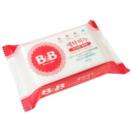 Хозяйственное мыло B&B для стирки детского белья с акацией 0.2 кг