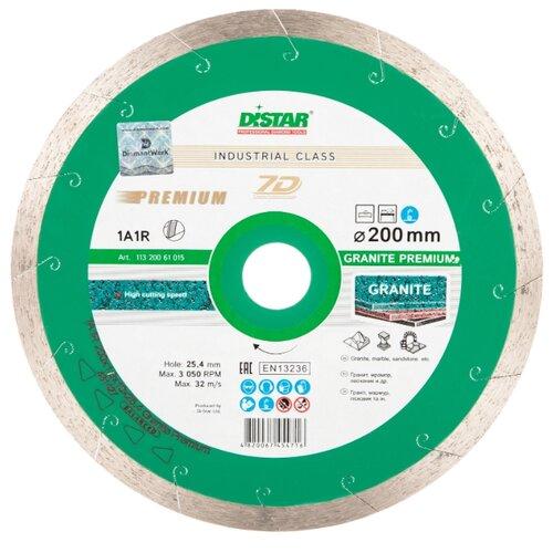 Диск алмазный отрезной 200x1.8x25.4 Di-Star 1A1R Granite Premium 11320061015 1 шт. диск здоровья pro star fit