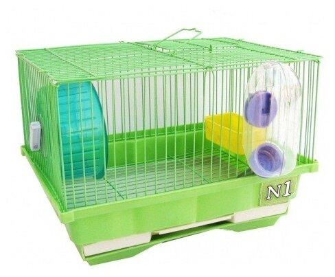 Клетка для грызунов N1 ДКг114 30х23х21 см