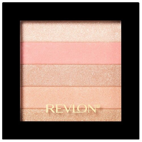 Revlon Палетка-хайлайтер Highlighting Palette 020, rose glow
