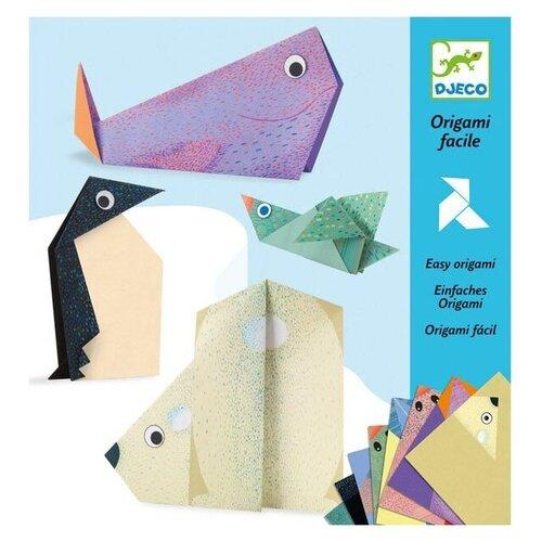 Фото - DJECO 8777 Набор для создания оригами Полярные животные наборы для творчества djeco оригами полярные животные
