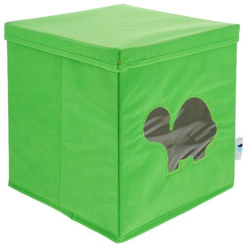 Контейнер Love it Store it Черепашка с прозрачным окном зеленый