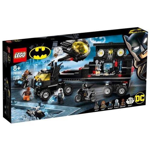 цена Конструктор LEGO DC Comics Super Heroes 76160 Мобильная база Бэтмена онлайн в 2017 году
