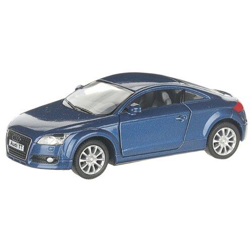 Купить Детская инерционная металлическая машинка с открывающимися дверями, модель Audi ТТ 2008, синий, Serinity Toys, Машинки и техника