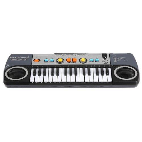 Купить Играем вместе пианино B928810-R1 белый/черный, Детские музыкальные инструменты