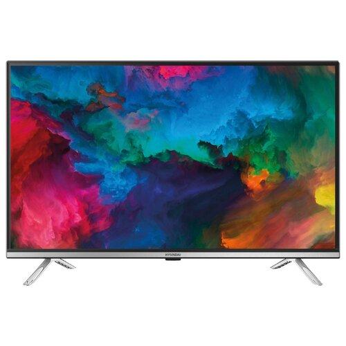 Фото - Телевизор Hyundai H-LED32ES5008 32 (2019) черный/серебристый телевизор hyundai h led32et3021 32 2019 белый